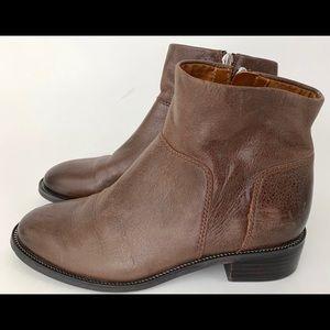 Franco Sarto Women's Booties Rustic Leather SZ 6M